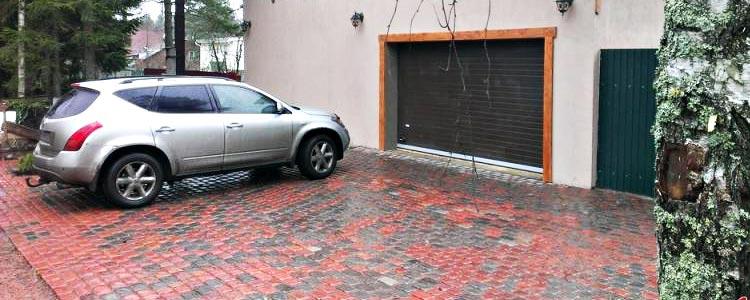 тротуарная плитка для парковок