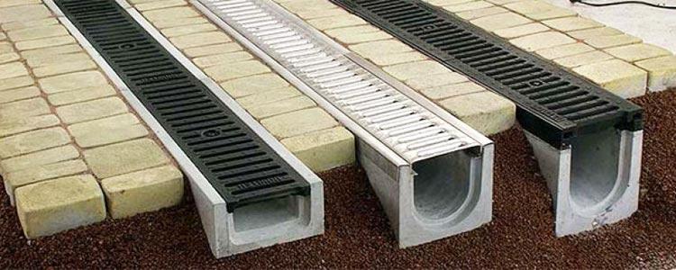 бетонные водосточные желоба