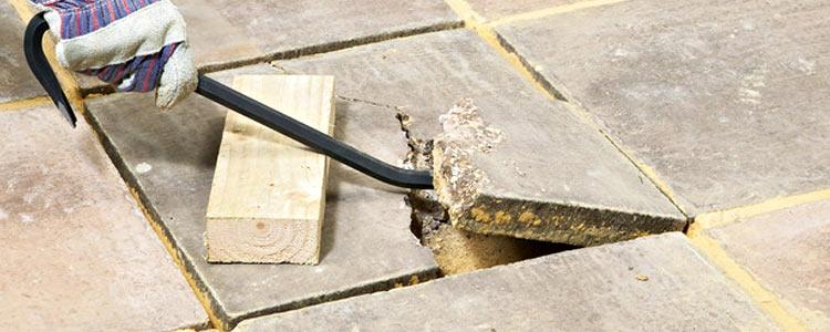 ремонт мощеного покрытия